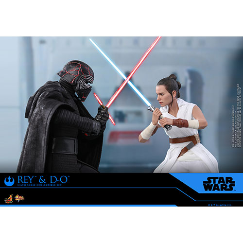 Hot Toys 1//6th scale Rey and D-O Set MMS559 Star Wars The Rise of Skywalker